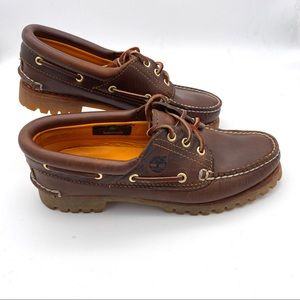Timberland Womens Boat Shoe Heritage Leather 7.5